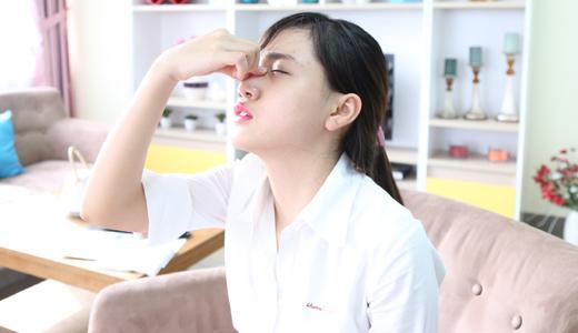 Ngạt mũi gây khô miệng